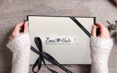 IDEE REGALO PER LA CURA DEI CAPELLI: i Christmas Box di Emsi Hair